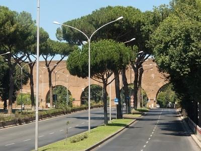 Via Cristoforo Colombo At Porta Ardeatina