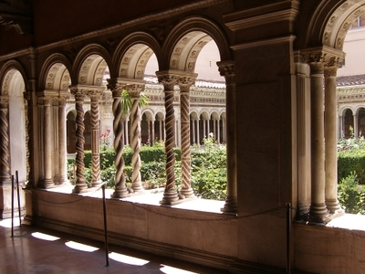 Cloister Of The Monastery Of San Paolo Fuori Le Mura