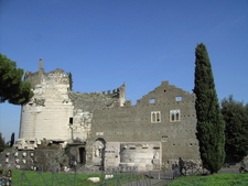Rear Of Tomb And Castle