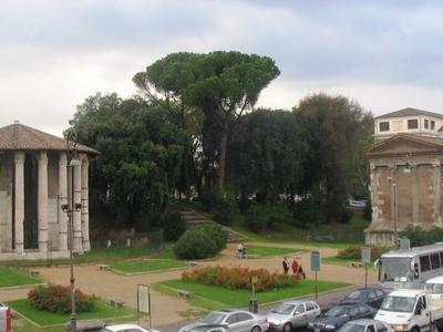 Another View Of Piazza Bocca Della Verità