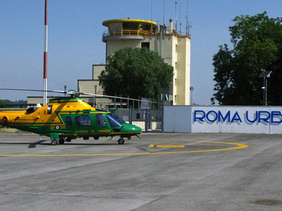 Another View Of Rome Urbe Airport