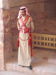 Soldier At Petra