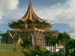 New Sarawak State Legislative Assembly Building