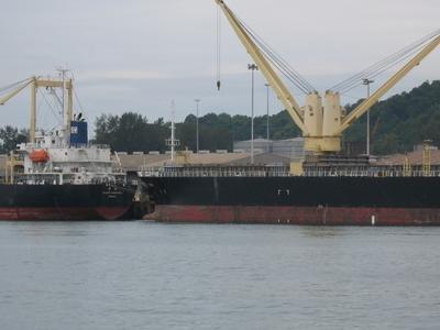 Ships Alongside Kuantan Port - Multi Purpose Berth