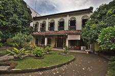 Skewed Front View 2 C Tjong A Fie Mansion 2 C Medan