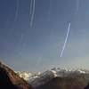 Star Trail At Parvati Valley In Kosal Base Camp