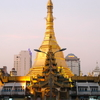 Sule Pagoda Centered