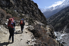 Trekking To Himalaya In Nepal