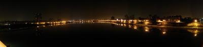 Taipei Bridge River Scene