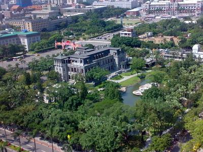 Taipei Guest House Birdeye View