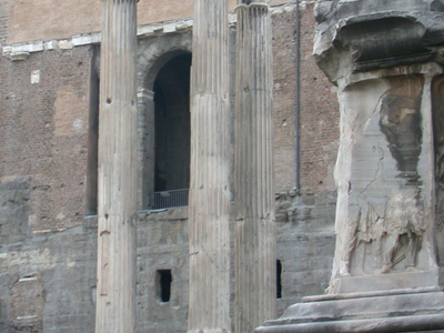Temple Of Vespasian And Titus