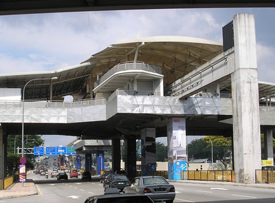 The Exterior Of The Kl Monorails