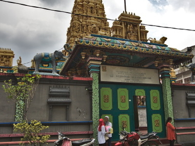 The Gopuram Of Sri Mariamman Temple Medan
