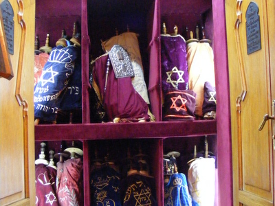 Torahs In The Istanbul Ashkenazi Synagogue
