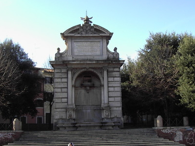 The Former Acqua Paola Fountain