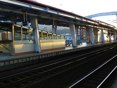 T R A  Xizhi  Station  Platform  West  Section
