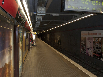 Line L1 Platform In The Western Direction