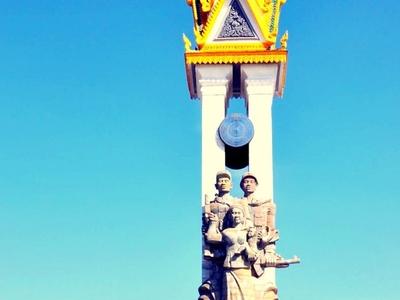 Vietnam  Cambodia  Friendshiip  Monument