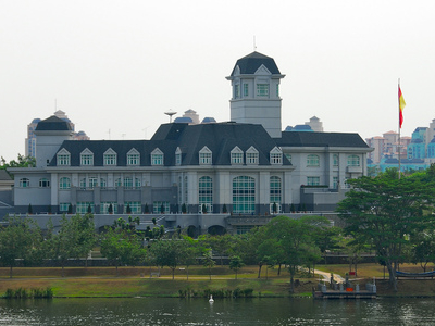 View Of Istana Darul Ehsan By The River