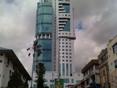 Front View Of Wisma Sanyan
