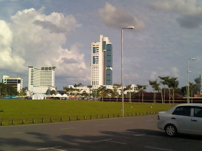 Wisma Sanyan As Seen From Waterfront