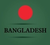 21296960 Bangladesh Text On Special Background Allusive To The Flag