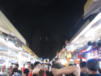 Aisles In  Jin   Zuan  Night  Market   2