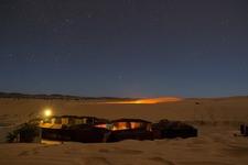 Berber Camp At The Desert