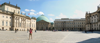 Panoramic View Of The Bebelplatz