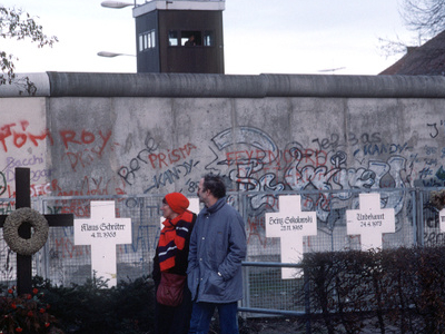The Original Memorial With Berlin Wall