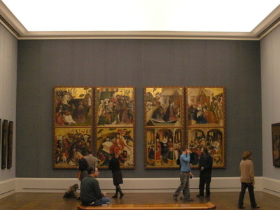 One Of The Rooms In Gemäldegalerie