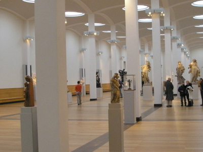 Main Hall With Sculptures