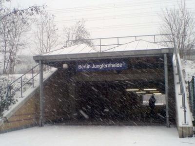 Berlin Jungfernheide Station