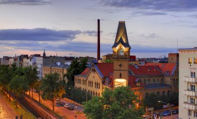 The Kulturbrauerei With Schönhauser Allee