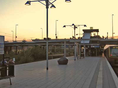 Berlin Westhafen Station