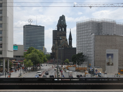 Breitscheidplatz With Zoofenster-Highrise Construction Site