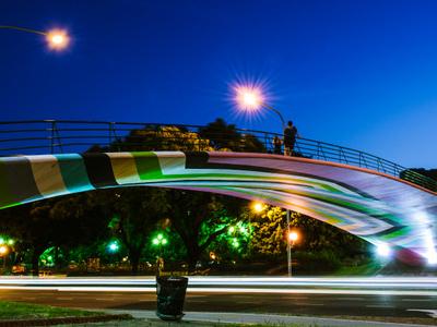 Bridge Over Figueroa Alcorta Avenue