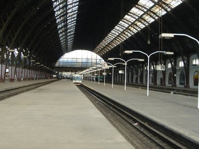 Retiro Mitre Glass And Iron Train Shed