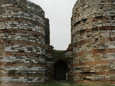 Remnants Of The Castle Gate