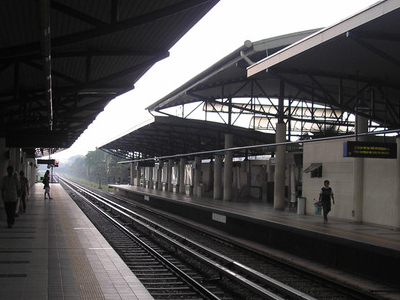 A Platform View Of Cheras Station