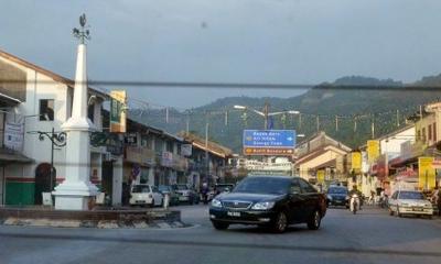 Cmglee  Penang  Balik  Pulau Main Street