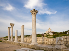 Ruins Of Ancient Greek Colony Of Chersonesos