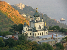The Foros Church Near Yalta