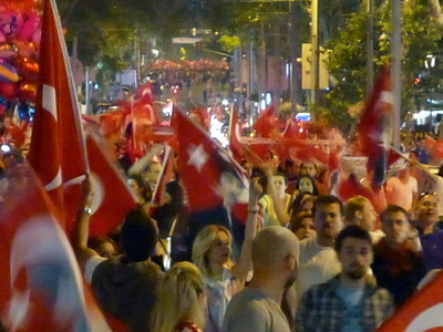 2013 Protests In Turkey At Bağdat Avenue