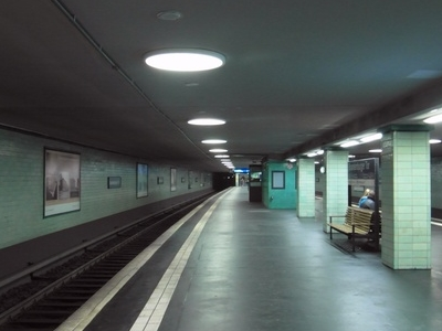 View Of The S-Bahn Station