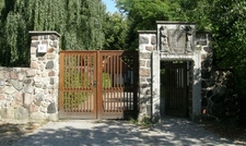 Entrance To Cemetery Dahlem