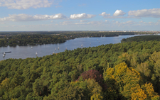 View Of Grunewald And Havel From Grunewaldturm