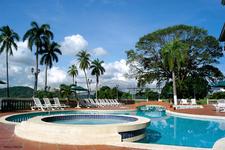 Hotel Pool And Bridge