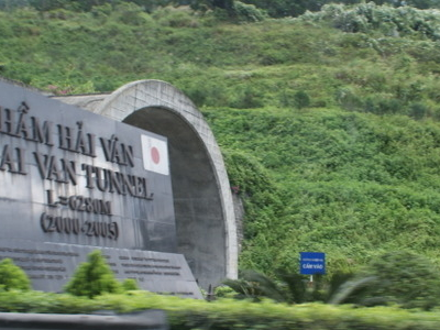 Hai  Van  Tunnel  Entrance