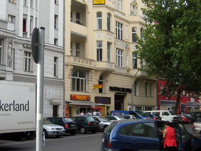 The Gaystreet Motzstrasse At Nollendorfplatz